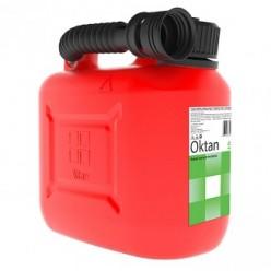 Канистра для бензина 5л с заливным устройством CLASSIC