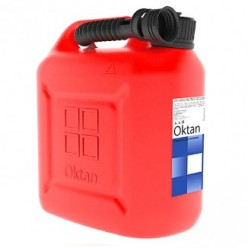 Канистра для бензина 10л с заливным устройством CLASSIC